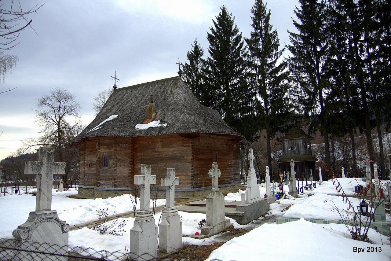 biserica de lemn din slatioara